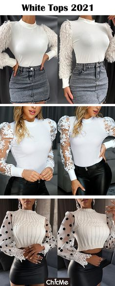 Act Like A Lady, Mommy Workout, Mesh Material, Lace Knitting, Top Sales, Cute Tops, Womens Fashion, Fashion Trends, Girl Outfits