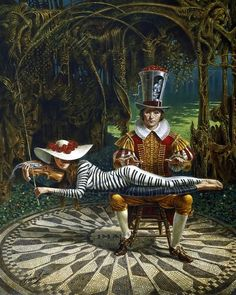Illusions of Absurdity: Paintings by Michael Cheval...i love this....