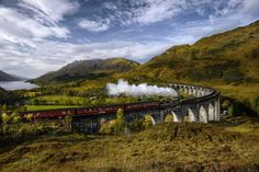 """Glenfinnan Viaduct, Lochaber   12 Beautiful Places In Scotland All """"Harry Potter"""" Fans Must Visit"""