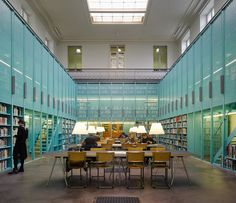 Gallery of University Library / OFFICE Kersten Geers David Van Severen - 1