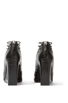 Givenchy | Ria wedge sandals in black leather | NET-A-PORTER.COM