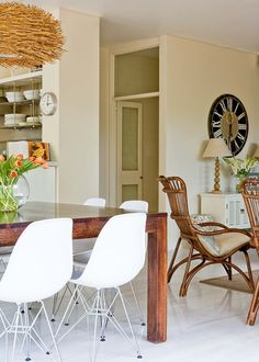 Dining room edit: coastal style - Homes, Bathroom, Kitchen & Outdoor | Home Beautiful Magazine Australia
