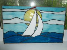 Stained+Glass+Sailboat+Panel+by+SheWhoPlaysWithGlass+on+Etsy,+$74.95
