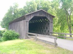 (Cedarburg, 120' x 12', 1876, closed to motor traffic, 49-46-01) across Cedar Creek N. of Cedarburg, Ozaukee County, WI.