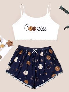 Really Cute Outfits, Cute Lazy Outfits, Stylish Outfits, Cool Outfits, Girls Fashion Clothes, Teen Fashion Outfits, Cute Sleepwear, Pajama Outfits, Mode Vintage