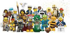 LEGO Minifigures Series 10 –with Golden Minifigure