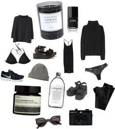 all black everything. #fashionvictim
