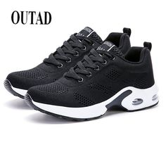 fd9a962f6 OUTAD 2018 New Woman Outdoor Running Sport Shoes brand platform breathable  Female Sneakers ladies footwear-in Running Shoes from Sports    Entertainment on ...