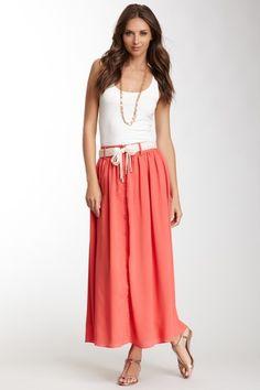 Pink Martini Flouncy Maxi Skirt by Maxi Dresses on @HauteLook