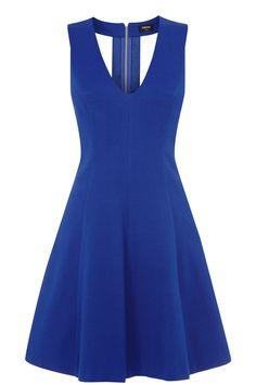 Textured Jacquard Skater Dress