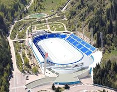 The Medeu is located in a mountain valley, on the outskirts of Almaty, Kazakhstan meters above sea-level). It is an outdoor speed skating and bandy rink. 5 Thousand, Speed Skates, Skating Rink, Bandy, Sea Level, Kazakhstan, Mongolia, Ursula, Asia