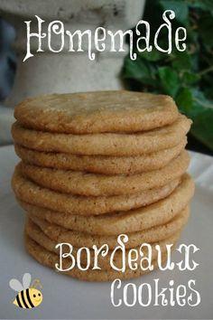 Homemade Bordeaux Cookies-