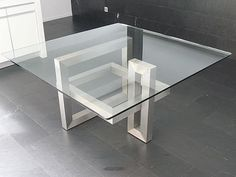 mesas de comedor modernas de cristal - Buscar con Google