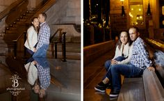 Old Montreal engagement session, Old Montreal engagement session at night