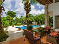 Cozumel Villa Rental: The Best Of Cozumel- Private Magnificent Oceanfront Villa W Pool | HomeAway Luxury Rentals