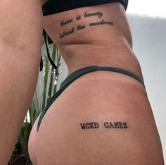 Wicked Games song // Beauty Behind the Madness album Dope Tattoos, Mini Tattoos, Tribal Tattoos, Tattoos Skull, Pretty Tattoos, Beautiful Tattoos, Body Art Tattoos, Small Tattoos, Stomach Tattoos