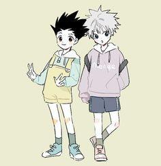 Hunter X Hunter, Hunter Anime, Gon Killua, Hisoka, Manga Anime, Anime Art, Yoshihiro Togashi, Hxh Characters, Cute Anime Pics