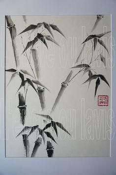 Bambous 30x40