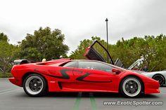 Lamborghini Diablo spotted in Newport Beach, California