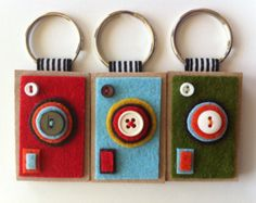 Camera Keychains--The ECO BOXY (Your choice)