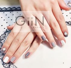 Simplicity #nail #nailart #nailpolish #naildesign #nailswag #manicure #fashion #beauty #nailstagram #nailsalon #instanails #nails2inspire #love #ネイル #art #gelnail #cute #gelnails #polish #style #gel #naildesigns #instanail #pretty #check #nailtech #greypolish #painting