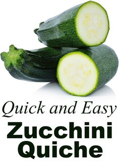 This is one of those vegetarian recipes that looks complicated and impressive, but is actually very easy! Zucchini Quiche is healthy, tasty, and can be made ahead of time. Perfect for guests, potlucks, bake sales, and more.