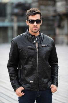 d89a9ccceb83d Dermis Leather Jacke Men Genuine Sheepskin Suede Leather Jacket Fashion  Brand Design Casual Slim Biker Motorcycle Coat Jaqueta - Online Shopping in  USA  ...