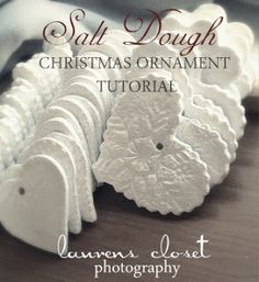 Salt Dough Ornaments to make yourself