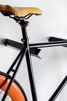 Dublin wooden bike rack / wooden bike hanger / | Etsy