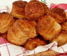 Hajtogatott töpörtyűs pogácsa Recept képpel - Mindmegette.hu - Receptek Seeds, Muffin, Baking, Breakfast, Lawn, Food, Morning Coffee, Bakken, Essen