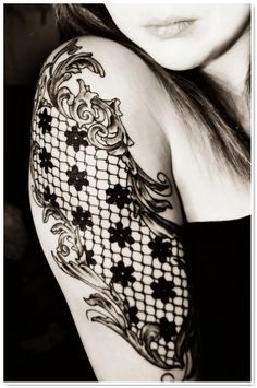 Leading Tattoo Magazine & Database, Featuring best tattoo Designs & Ideas from around the world. At TattooViral we connects the worlds best tattoo artists and fans to find the Best Tattoo Designs, Quotes, Inspirations and Ideas for women, men and couples. Lace Sleeve Tattoos, Sleeve Tattoos For Women, Tattoo Sleeve Designs, Tattoo Designs For Women, Body Art Tattoos, New Tattoos, Tattoos For Guys, Dragon Tattoos, Tattoo Snake