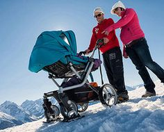 Skis For Baby Strollers.        Like, Share!