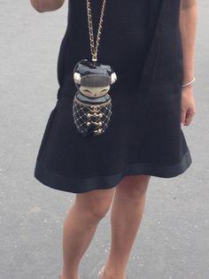 Minaudiere Chanel en forme de poupee (presque une Kimmidoll) via @ledailyelle
