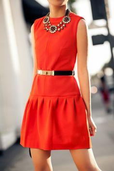 Accessorize a dress