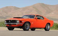 1970 Ford Mustang fastback Boss 429 in Grabber Orange