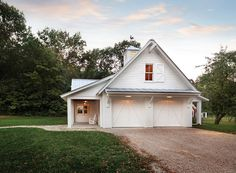 I like the farm at night homesweethome barn by for House plans with detached guest house