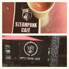 This amazing little coffee house in The Midlands Meander, Kwa-Zulu Natal , South Africa Steampunk Cafe, Little's Coffee, Zulu, South Africa, Amazing, House, Natal, Haus, Home