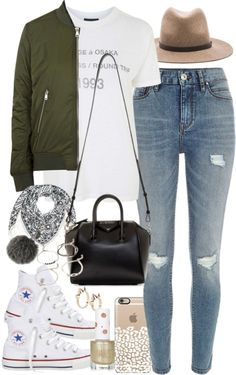 styleselection: Outfit for college by ferned featuring a flight...