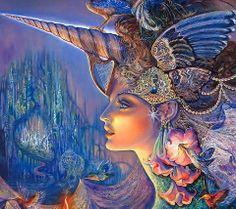 This is the Art of Josephine Wall . If you think this is beautiful check out her Facebook page . She has the Best Art I have seen on Facebook and there is a lot !