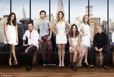 Stateside: A new image of the entire cast of Made In Chelsea: New York has been unveiled online