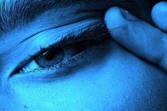 #blue #eye #neon
