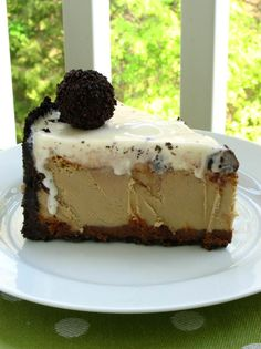 Rich Ice Cream and Coffee Cheesecake > Willow Bird Baking