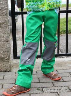 Softshellové kalhoty 116-140 (Střih a fotonávod) | Ekozahrada - Blog Petry Macháčkové / Caramilla