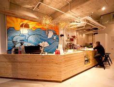 Thor- a local espresso bar with an inspiring interior