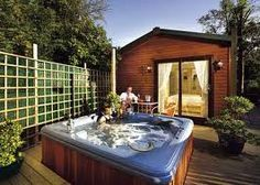 Images of romantic weekend breaks with hot tub Cabins And Cottages, Beach Cottages, Log Cabins Lake District, Romantic Weekend Breaks, Cotswold Water Park, Lodges With Hot Tubs, Large Holiday Homes, Luxury Log Cabins, Hot Tub Garden