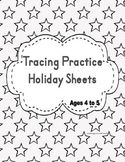 This a fun way to teach writing to a 4 to 5 years old, tracing the lines for early writing practice