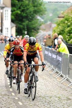 Kristian House - Rapha Condor JLT rider taking control of the race.