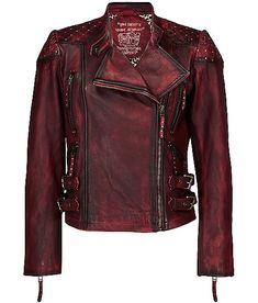 Old Gringo Quilted Leather Jacket