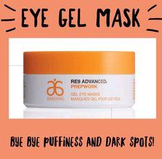 Arbonne RE9 prepwork Gel Eye Masks www.jaelynwillness.arbonne.com