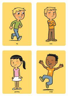 blij trots gelukkig vrolijk Social Work, Social Skills, Teaching French, Yoga For Kids, Teaching Materials, Preschool Activities, Preschool Plans, Coaching, Kindergarten